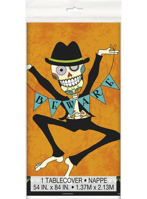 Prostokątny obrus w meksykańskie szkielety - Day of the Dead