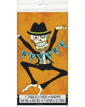 Day of the Dead Duk rektangulär skelett - Day of the Dead