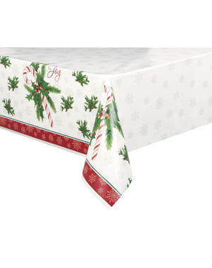 Rectangular tablecloth with candy cane - Candy Cane Christmas