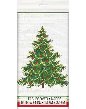 Toalha de mesa retangular com árvore de Natal - Classic Christmas Tree