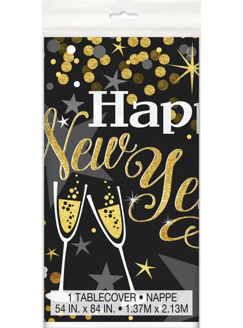 Rechteckige Silvester Tischdecke - Glittering New Year