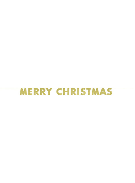 glittery gold merry christmas banner basic christmas for parties and birthdays funidelia funidelia