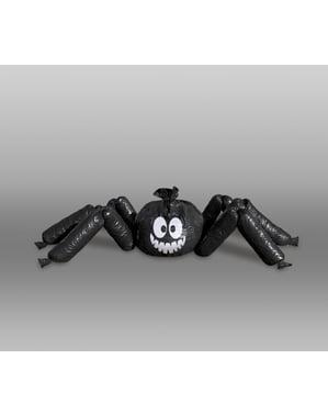 Dekoratif şişme plastik örümcek - Temel Cadılar Bayramı