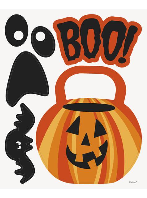 11 kpl Halloween aiheisia koristemagneetteja - Basic Halloween