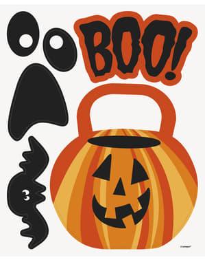 11 dekorationsmagneter Halloween - Basic Halloween