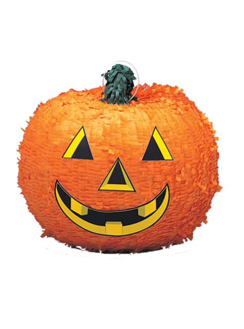 Pinhata de abóbora sorridente - Basic Halloween