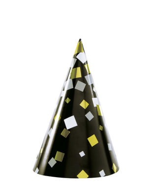 Kit di cotillon per feste per 8 persone - Happy New Year