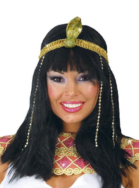 Snygg egyptisk kvinna Peruk