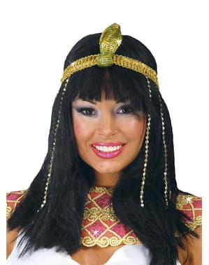 Peluca de bella egipcia