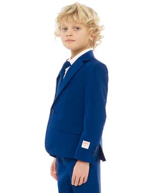 Costum băieți albastru marin