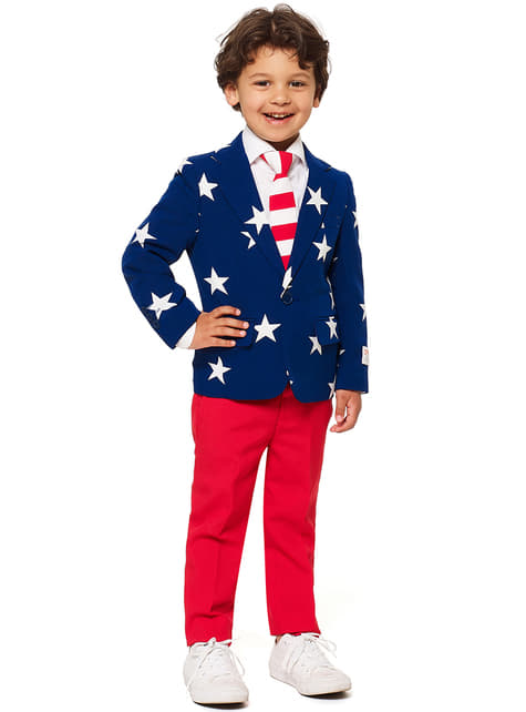 Stars & Stripes Opposuits suit for boys