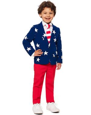 Chlapecký oblek Hvězdy a pruhy