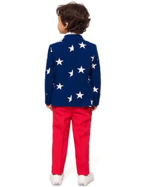 Stars & Stripes Opposuits sæt til drenge