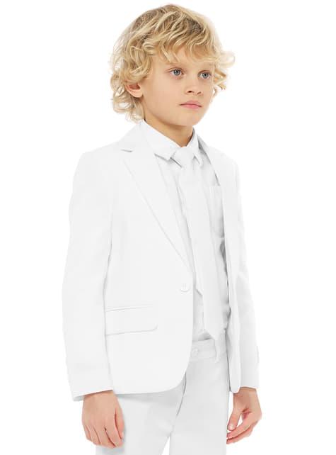 Traje White Knight Opposuits para niño - infantil