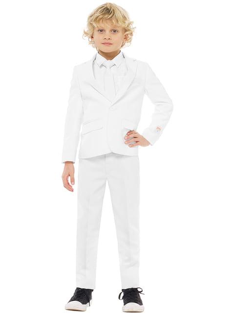 Traje White Knight Opposuits para niño