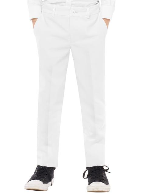 Traje White Knight Opposuits para niño - traje