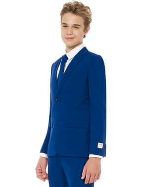 Oblek Královská modrá pro teenagery