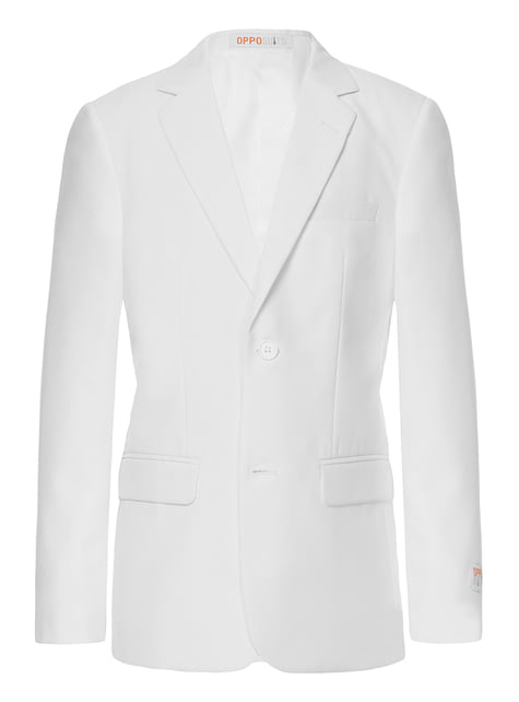 Traje White Knight Opposuits para adolescente - traje