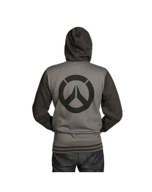 Overwatch sweatshirt for men in grey
