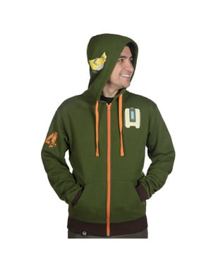 Ultimate Bastion hoodie til voksne - Overwatch