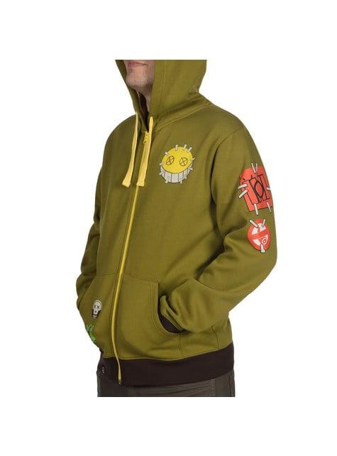 Mikina s kapucí pro dospělé Ultimate Junkrat - Overwatch