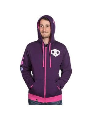 Mikina s kapucí pro dospělé Ultimate Sombra - Overwatch