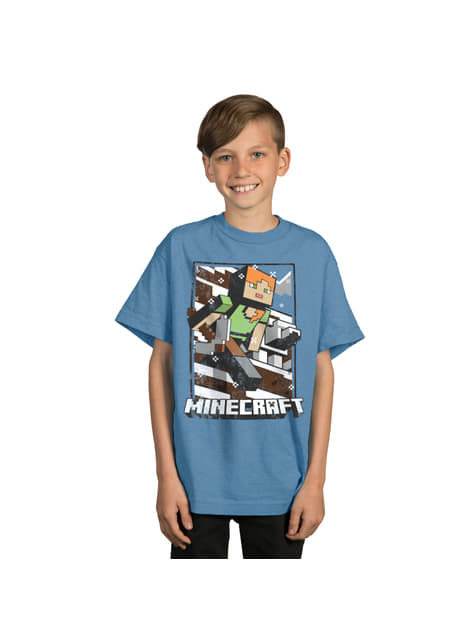 Camiseta Minecraft Tundra Explorer infantil