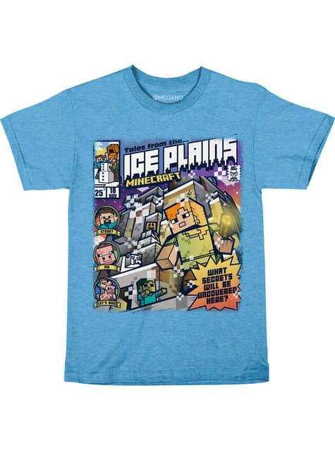 T-shirt Minecraft Ice Plains enfant