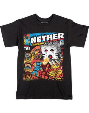 T-shirt Minecraft Tales From Nether per bambino