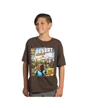 T-shirt Minecraft Tales from the Desert för barn