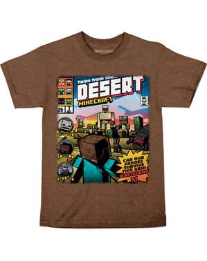 Minecraft Aavikon Tarinat -T-paita Lapsille