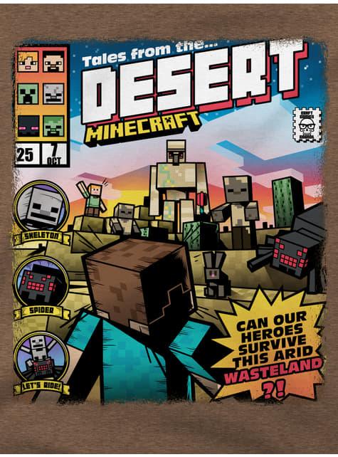 Minecraft Tales from the Desert T-skjorte til Barn