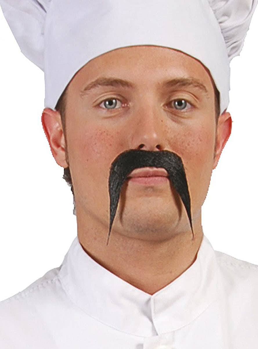 Koch schnurrbart f r kost m funidelia for Koch 4 sterne