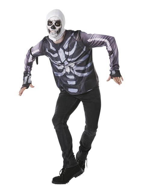 Camiseta de Fortnite Skull Trooper para adolescente