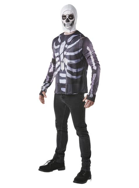 Koszulka Skull Trooper dla dorosłych - Fortnite