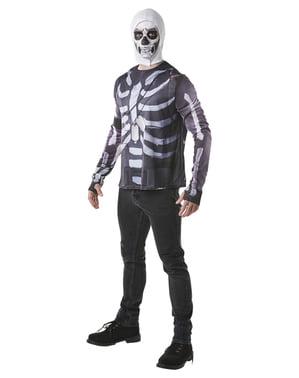 Fortnite Skull Trooper T-skjorte til voksne