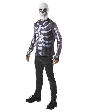 Tricou Fortnite Skull Trooper pentru adult