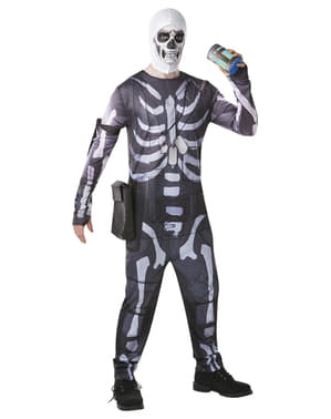 Disfraz de Fortnite Skull Trooper para adulto