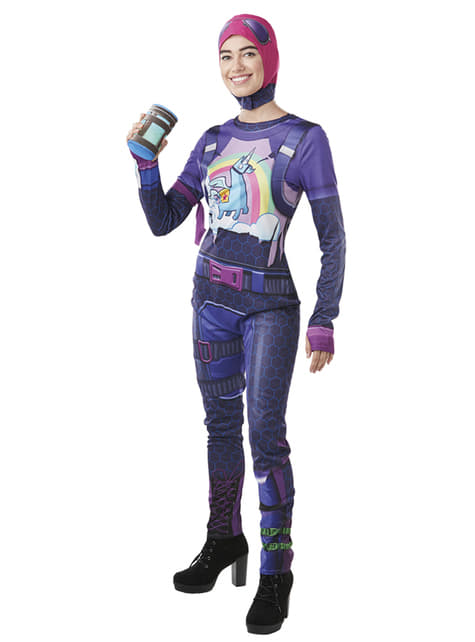 Fortnite Brite Bomber costume for adults