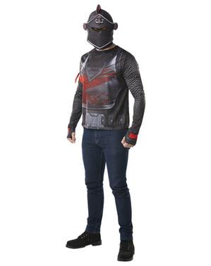 Fortnite אביר שחור חולצה למבוגרים
