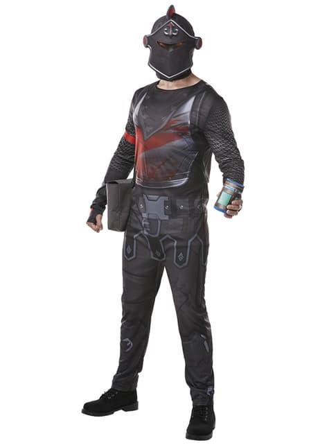Fortnite Black Night kostuum voor volwassenen