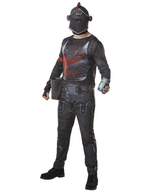 Costume Cavaliere Nero Fortnite per adulto