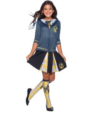 Saia de Hufflepuff para menina - Harry Potter