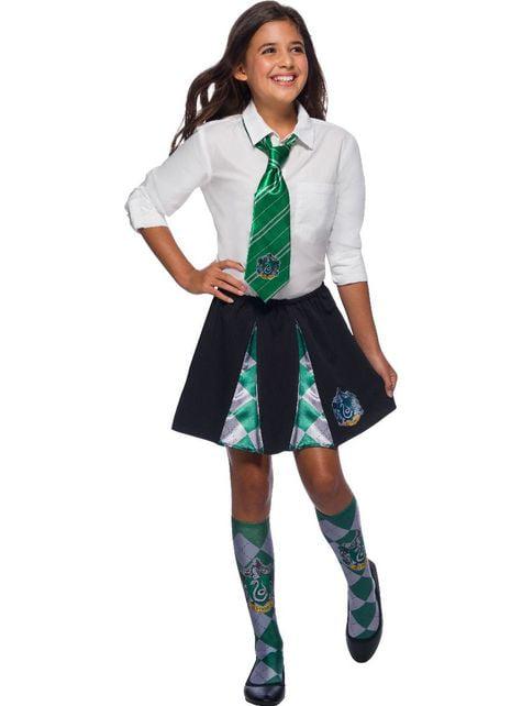 Saia de Slytherin para menina - Harry Potter