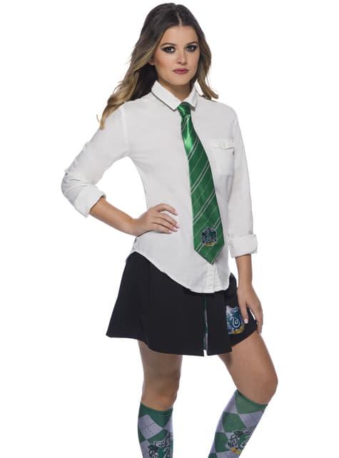 Corbata de Slytherin - Harry Potter - para tu disfraz