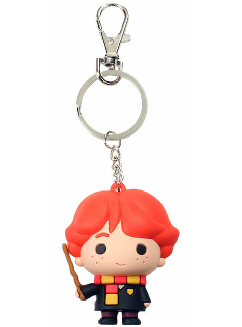 Ron Weasley Kawaii Harry Potter keychain