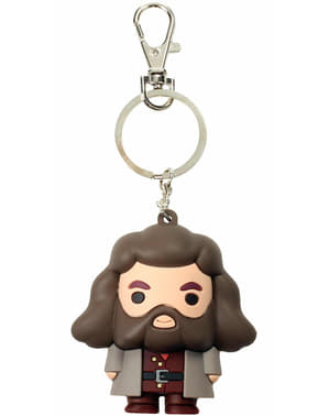 Llavero Rubeus Hagrid Kawaii - Harry Potter
