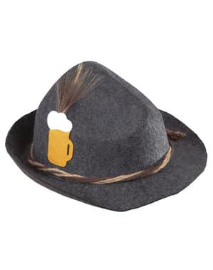 Bawarski kapelusz na Oktoberfest dla dorosłych