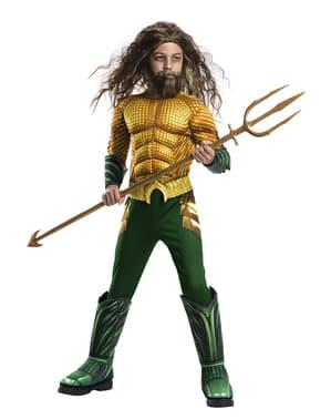 Costum Aquaman deluxe pentru băiat