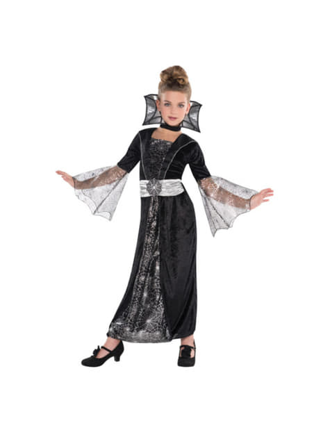 Spider Countess costume for girls